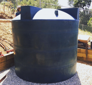 How to use a 2500 gallon tank